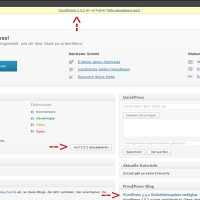 Wordpress Update 3.5.2 verfügbar