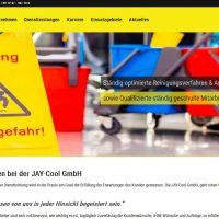 Startseite der JAY-Cool GmbH